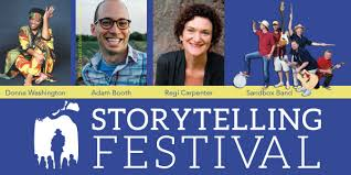 Pack Your Blanket Or Chair For Seating And Listen To Storytellers Donna Washington Adam Booth Regi Carpenter Enjoy Live Music From The Sandbox