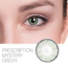 Mystery Prescription Green 12 Month Contact Lenses In 2019