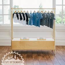 Marvelous Modern Brach Clothing Rack Racks Zampco