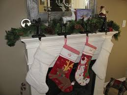 Christmas ~ Decorating Vivacious Fascinatingry Barn Stocking ... Decorating Rustic Stocking Holders With Pottery Barn Holder Christmas Stockings Forids Velvet Mantel Hangers Christmas Stocking Holder By Ohhappydayco Heavy Decor Metal For Mantle North Pole Shing Season Shop Silver Reindeer Hook Streamlined Reindeer Glistens Hanger