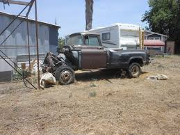 3 Trucks For Sale, 1957 Or So Chevy Dually, 1956 Chevy Dually, 1950 ...