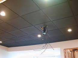 Usg Ceiling Tiles Home Depot by Black Suspended Ceiling Avs Forum Home Theater Discussions And