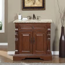 accord 36 inch single sink bathroom vanity venetian granite top