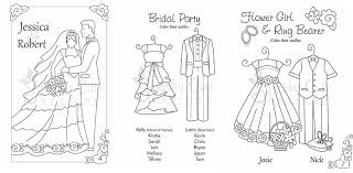 Wedding Coloring Books Activity Sheets Goodie Bags