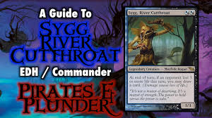 mtg sygg river cutthroat pirates and plunder edh commander