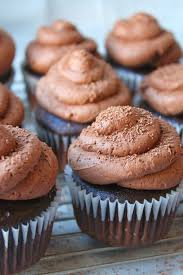 Moist Chocolate Cupcakes Topped With Fluffy Buttercream