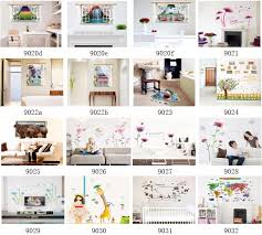 Wholesale Cheap Room Decor 5d Wall Stickers