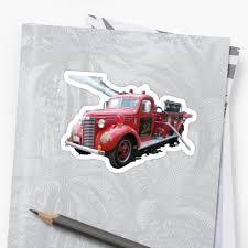 Vintage US Fire Truck,old Skool,old School,