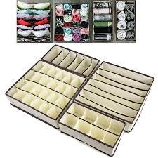 4 pack aufbewahrung lösung box kleiderschrank organizer