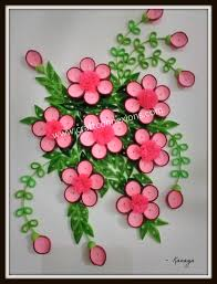 Floral Wall Frame Paper Quilling