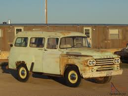 100 Panel Trucks 1958 Dodge Power Wagon Truck Truck Town Accessories