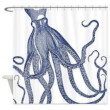 Best Kracken Shower Curtain Octopus or Squid Attack
