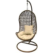 Rattan Outdoor Garden Furniture Hanging POD Swing Chair EBay Diy Indoor Hammock Stand