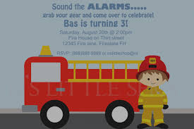 Trend Of Fire Truck Birthday Invitations Free Firetruck Themed Party ...