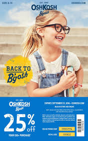 Osh Kosh Coupon In Store / Outdoor Ice Cooler