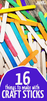 16 Fun Popsicle Stick Crafts For Kids And Grown Ups Everything In Between