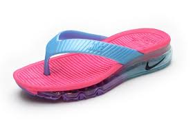 Comfortable Summer Women Nike Air Max Flip Flops Shoes Sandals Slipper Beach Wading Pink