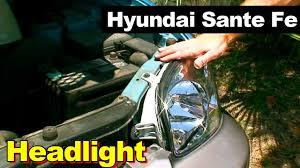 2003 hyundai santa fe headlight