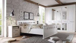schlafzimmer enna schrank bett nako kiefer teilmassiv weiß
