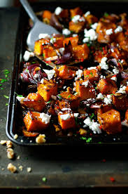 Japanese Pumpkin Recipe Roasted by Roasted Pumpkin With Maple Chili And Feta Recipetin Eats