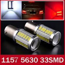 Brake Lamp Bulb Fault Ford Focus 2016 by 2pcs 1157 Bay15d P21 5w 33 Smd 5630 5730 Led Red White Car Tail