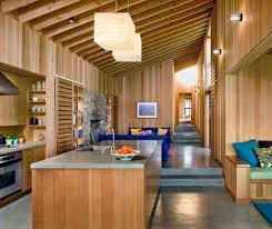 100 Designing Home Modern Wooden Interior Beach Kitchen Design