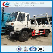 100 Truck Loader 10 Dongfeng 4x2 Ton 8 M3 Rhd Or Lhd Skip Rubbish For