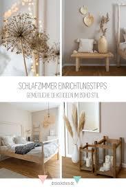 schlafzimmer einrichtungstipps gemütliche deko ideen im