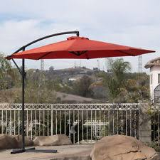Patio Umbrella Offset 10 Hanging Umbrella by Offset Umbrella Ebay