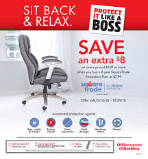 Effectively Free 2-Yr SquareTrade Protection Plan W/ Chairs ... Tim Eyman Settles Office Depot Chair Theft Case The Olympian Used Reception Fniture Recycled Furnishings New Esa Lobby Extended Stay America Photo Depot Flyer 03102019 03162019 Weeklyadsus 7 Smart Business Ideas Youll Wish Youd Thought Of First Book 20 Page 1 Guest Chair Medium Gray Linen Silver Nail Head Trim Modern Walnut Wood Frame 10 Simple To Create An Inviting Space Turnstone Contemporary Manufacture Lounge Workspace Direct 9 Best Ergonomic Chairs 192018 12152018