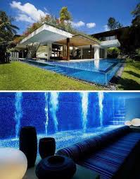 Swimming Pool Design Amazing Glass Wall Ideas