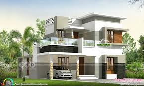 100 Modern Contemporary House Design 1549 Square Feet 4 Bedroom Contemporary House Plan Kerala