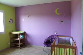 chambre enfant violet chambre mauve clair