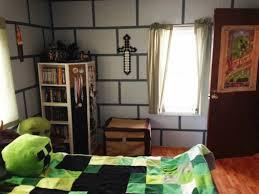 minecraft schlafzimmer tapete schriftart wand design zimmer