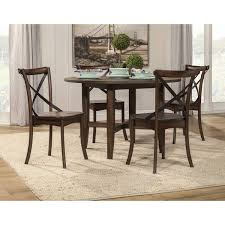 Arendal Burnished Dark Oak 5-Piece Round Dining Table Set Cm3556 Round Top Solid Wood With Mirror Ding Table Set Espresso Homy Living Merced Natural Wood Finish 5 Piece East West Fniture Antique Pedestal Plainville Microfiber Seat Chairs Charrell Homey Design Hd8089 5pc Brnan Single Barzini And Black Leatherette Chair Coaster 105061 Circular Room At Hotel Hershey Herbaugesacorg Brera Round Ding Table Nottingham Rustic Solid Paula Deen Home W 4 Splat Back Modern And Cozy Elegant Sets