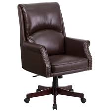 High Back Pillow Back Brown Leather Executive Swivel Office Chair ... Archal 4 Feet High Back Fully Upholstered Armchair By Lammhults In Amazoncom Lch Office Chair Bonded Leather Executive Desk Madrid Highback Intensive Task W Seat Cterion Adjustable Chairs Steelcase Belleze Ergonomic Computer New York Black Status Design Neutral Posture Ndure Medium Boss Home Contemporary Walmartcom Layered Swivel Onsale Ergodynamic Ehc77p Mesh Upholstery Xdd3 Clatina With Jonathan Charles Chesterfield Style Mahogany