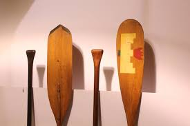 Decorative Wooden Oars And Paddles by Collection Of Antique Wooden Paddles And Oars At 1stdibs