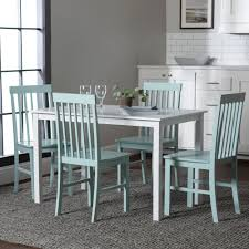 Shop 5-piece Dining Set White And Sage Green - On Sale - Free ... Shop Eleanor Sage Green Solid Wood Oval Table And X Back Chairs 5 Living Room Credainatncom High Fabric Ding Pair Mobel Oak Florence Kitchen Chair Country Style Chair With Henrik Walnut Seat Icon By Walker Edison Fniture Company Greyson 5piece White Two Full Upholstered Appealing Cushions Peter Lime Tw485pcsg Piece Set W Greenwich Velvet Stripe Serene Classic