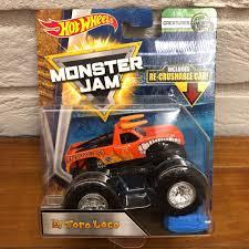 100 El Toro Monster Truck Hot Wheels Jam Loco Orange Toys Games Others On