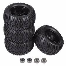 4Pcs 125mm RC Tires & Plastic Wheel Rims Foam Inserts For 1/10 ... 4pcs Rc Tire Wheel Rim Hex 12mm For Himoto 110 Off Road 38 Monster Truck Tires Wheels 17mm Dutrax Hatchet Mt Epitome Monster Truck For Spin J7 W Pluto Beadlock Rims Black 1 Pair Lovin How Our Mud Basher 22 Tractor Raceline Octane Hpi Savage X46 With Proline Big Joe Monster Trucks Tires Youtube 18 Scale Mounted With Having A Was Fun Until It Need New Tires Funny Wtb Truggy Tech Forums 4pcslot Inch 12mm Jconcepts New Release And