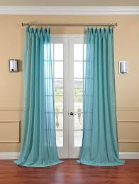 teal living room curtains home decoration