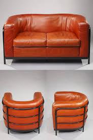 canapé zanotta mobilier de salon canapé et 2 fauteuils en cuir modèle onda