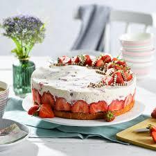 erdbeer mascarpone torte rezept backen de