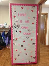 classroom door decoration for valentine s day