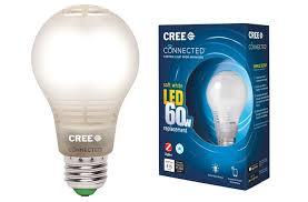 cree led smart bulb supports zigbee and wink for 15