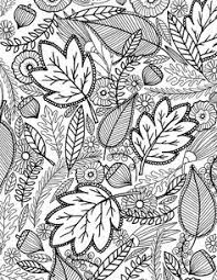 Free Adult Coloring Pages Website Inspiration Autumn For Adults