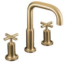 Kohler Purist Bath Faucet by Decor Custom Kohler Purist Brushed Gold Design Ideas With Vessel