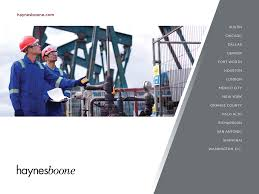 Oilfield Services Bankruptcy Tracker | Haynes And Boone, LLP