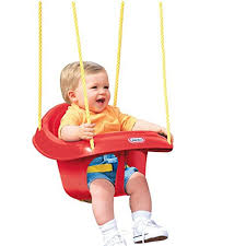 Little Tikes Garden Chair Orange by Little Tikes High Back Toddler Baby Child Swing Seat Outdoor