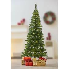 6ft Slim Christmas Tree by Wilko 6ft Prelit Green Christmas Tree At Wilko Com